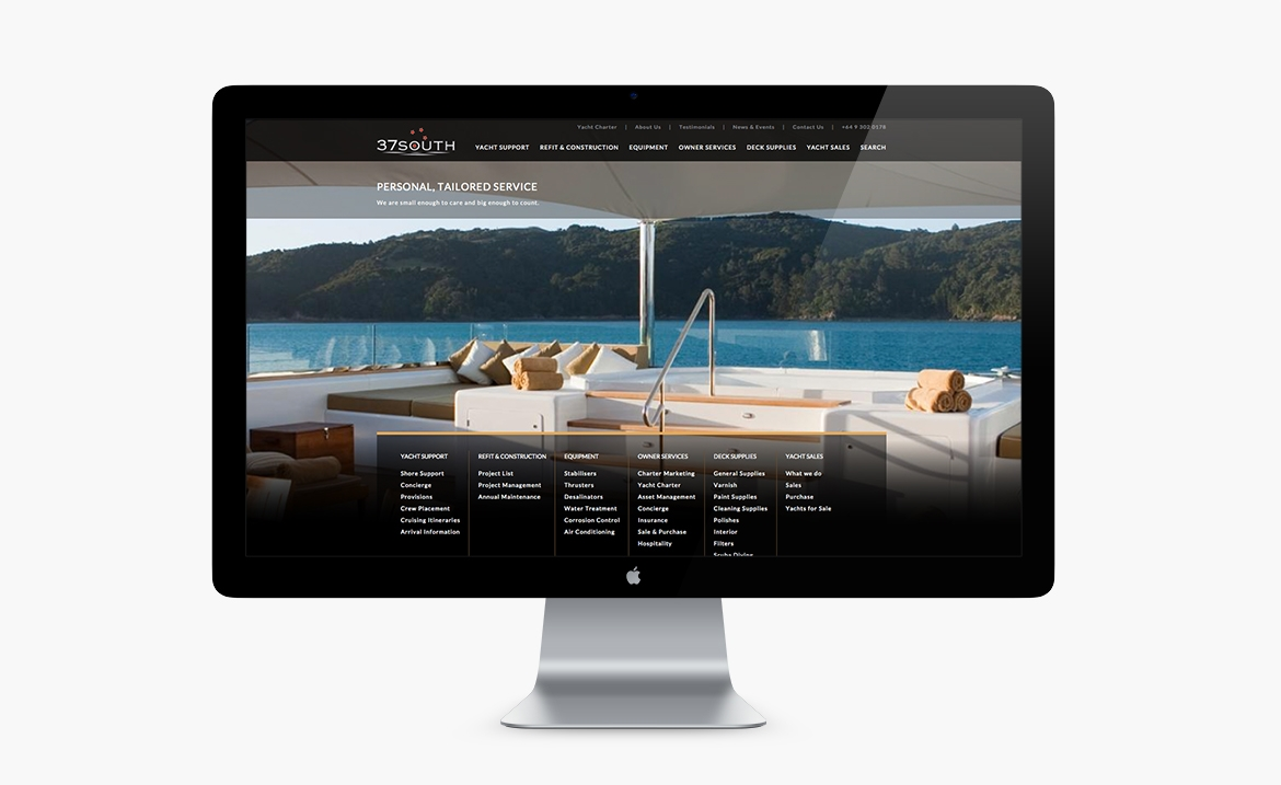 1large Onfire Design 37 South Yachts home Page2