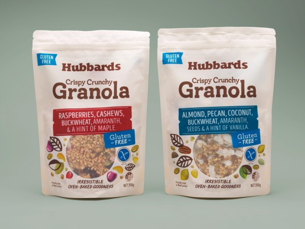 1 Hubbards Gluten Free Granola Packaging Design2