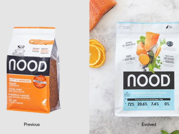 Nood Petfood Packaging Design