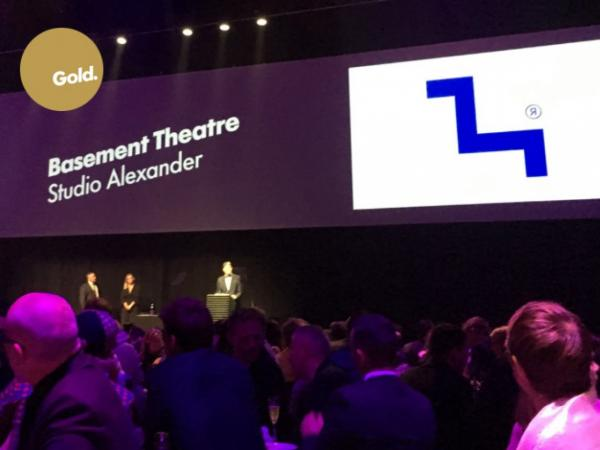 large Studio A Win Gold Best Awards Basement Theatre
