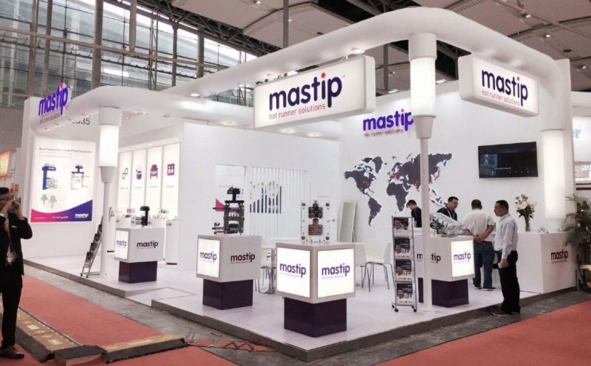 large Mastip Chinaplas Stand Design