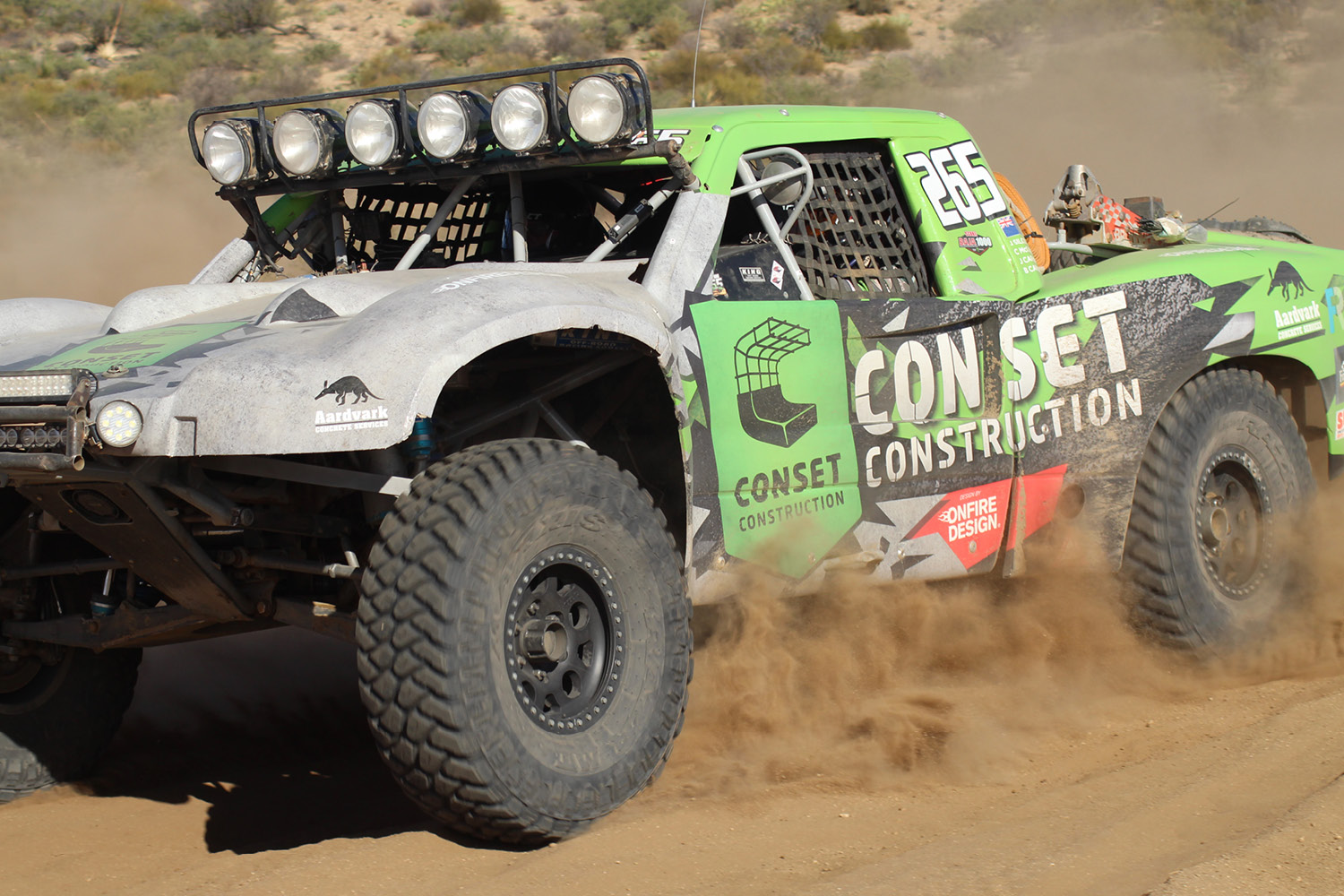 onfire design conset construction baja trophy truck livery 1