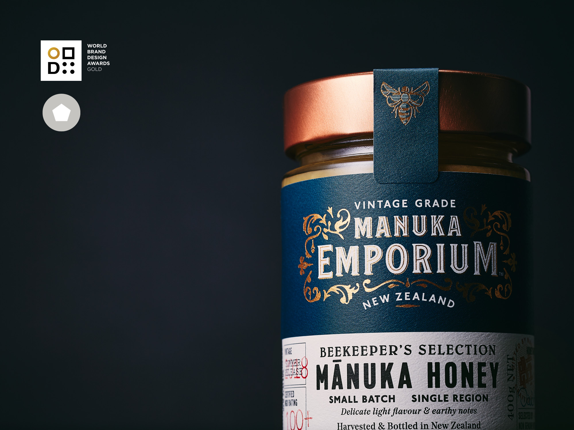 Onfire Design Manuka Emporium Honey Packaging Branding Design 3.2