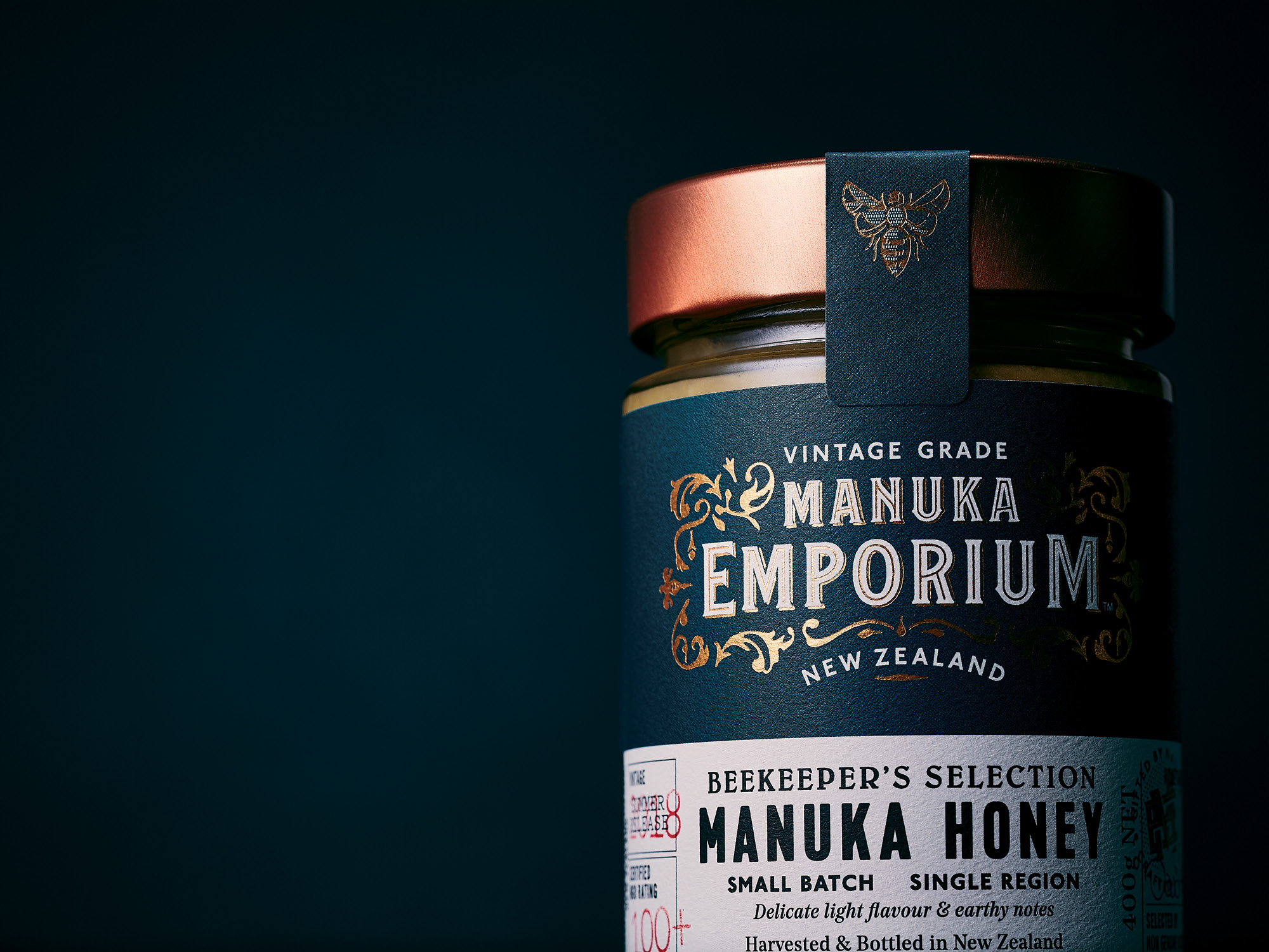 Onfire Design Manuka Emporium Honey Packaging Branding Design 3