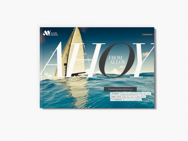 1large Onfire Design Ahoy Alloy Yachts Print