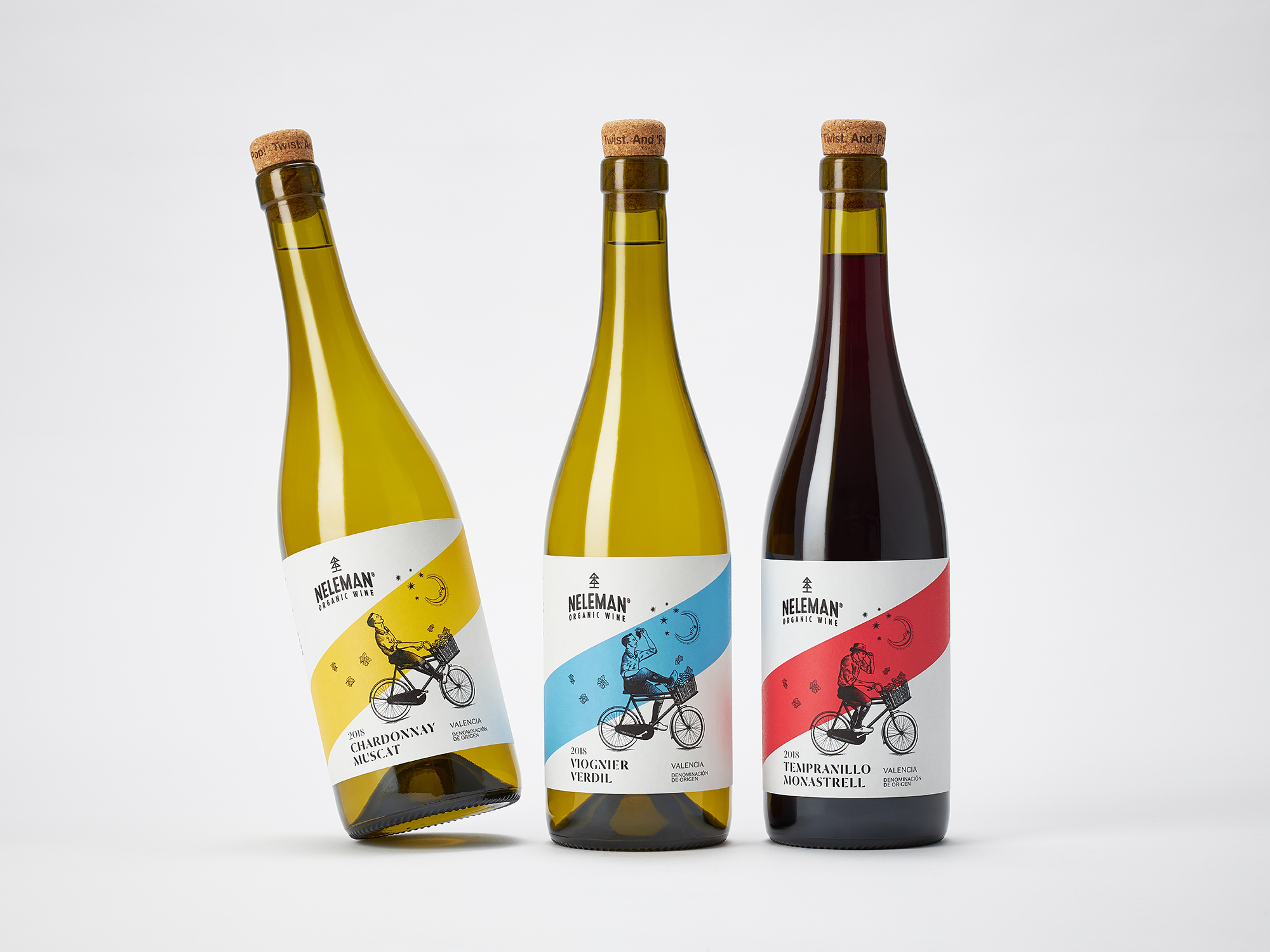 onfire design neleman wine packaging design 1