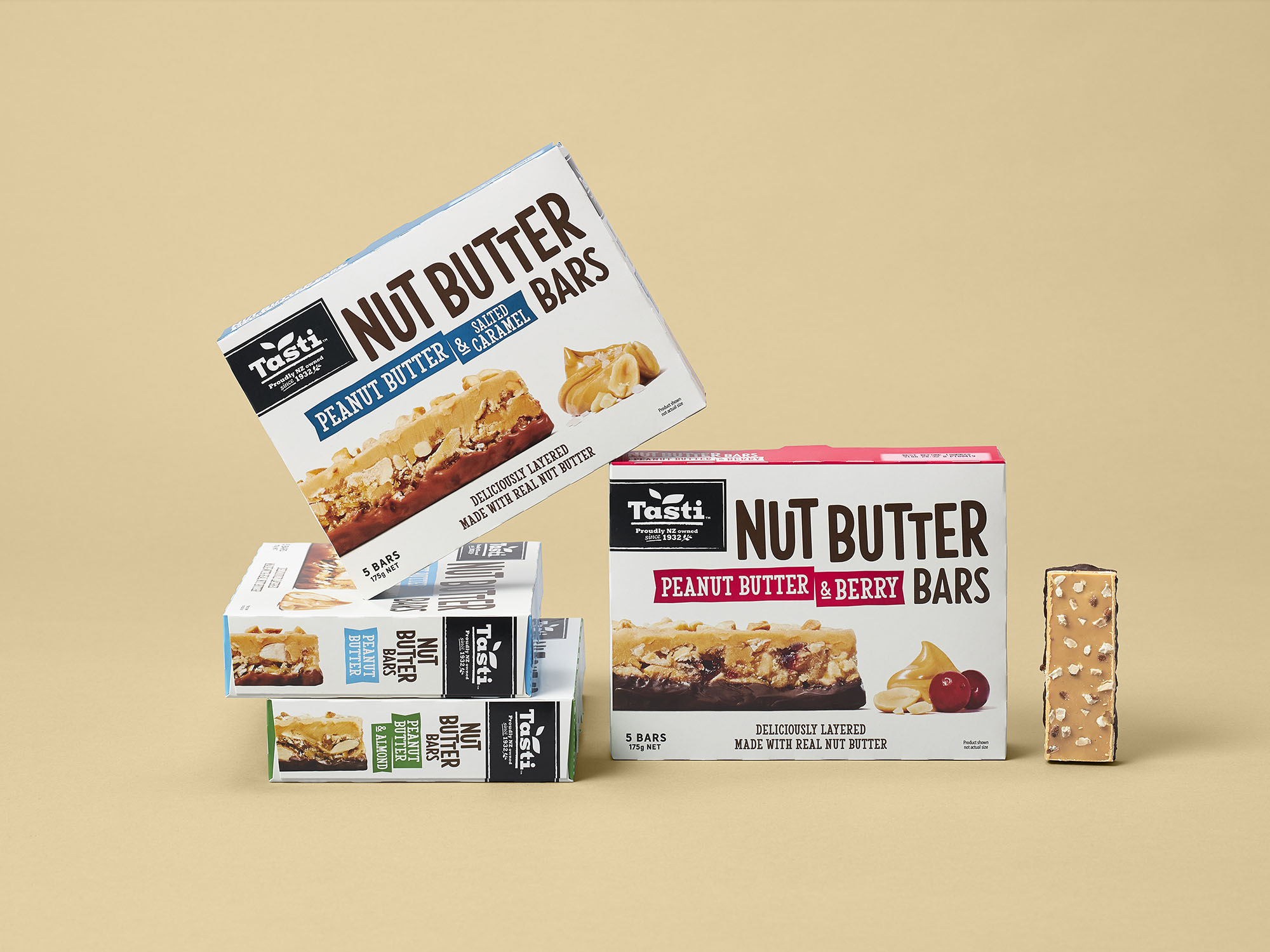 onfire design tast nut butter bar packaging design 3