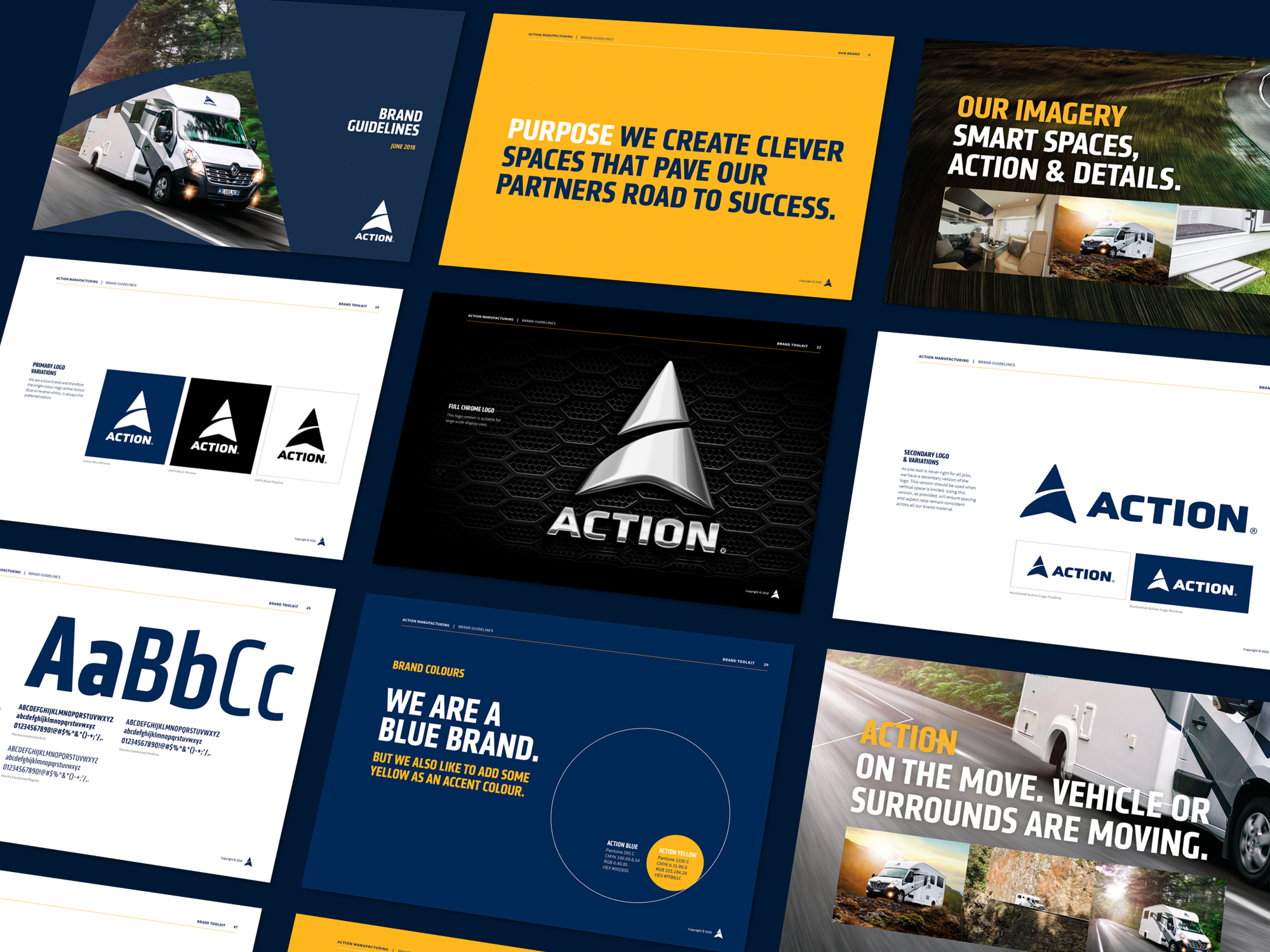 Action Manufacturing Brand Identity Design4