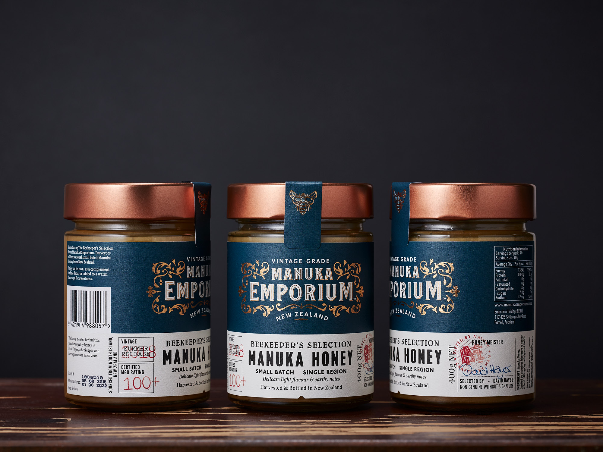 Onfire Design Manuka Emporium Honey Packaging Branding Design 12