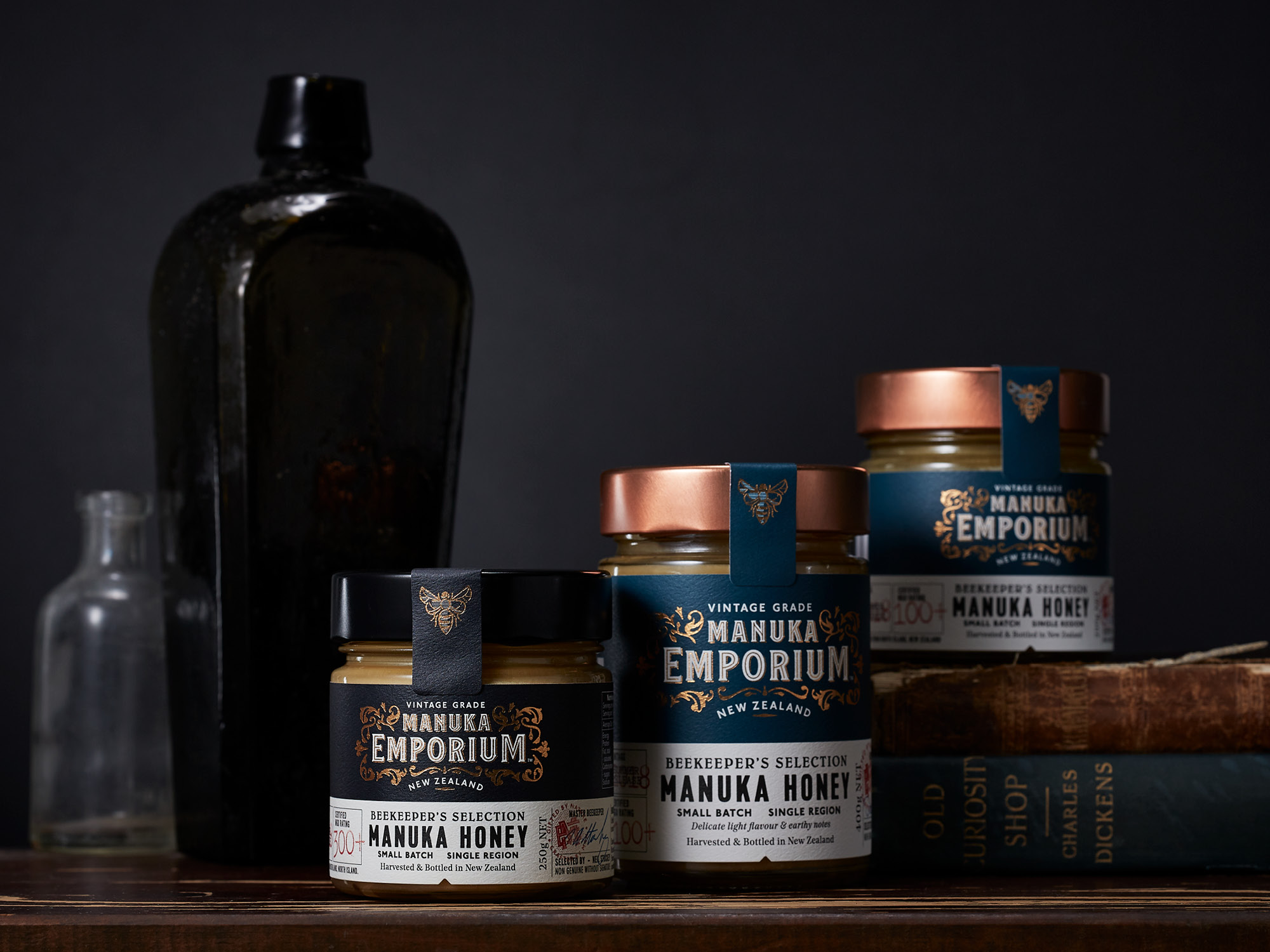 Onfire Design Manuka Emporium Honey Packaging Branding Design 13