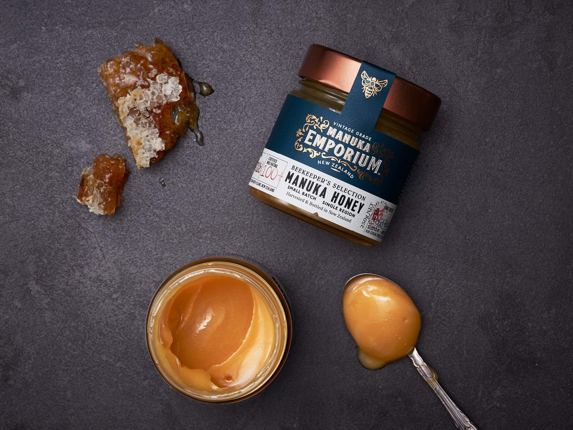 Onfire Design Manuka Emporium Honey Packaging Branding Design 17
