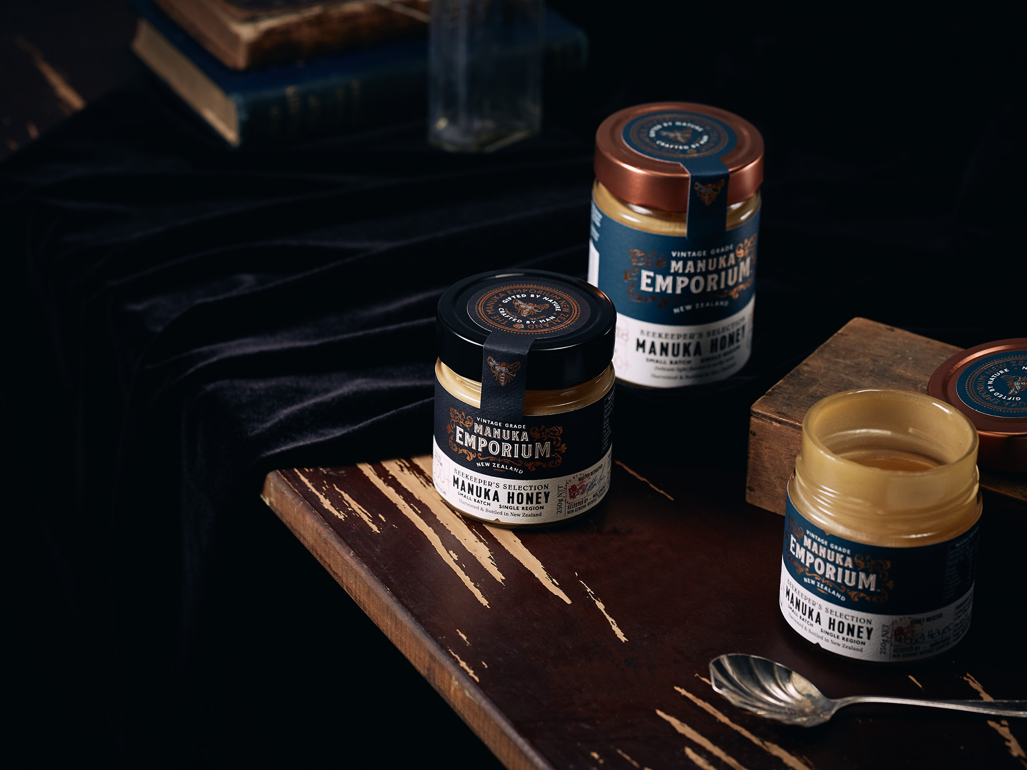 Onfire Design Manuka Emporium Honey Packaging Branding Design 18