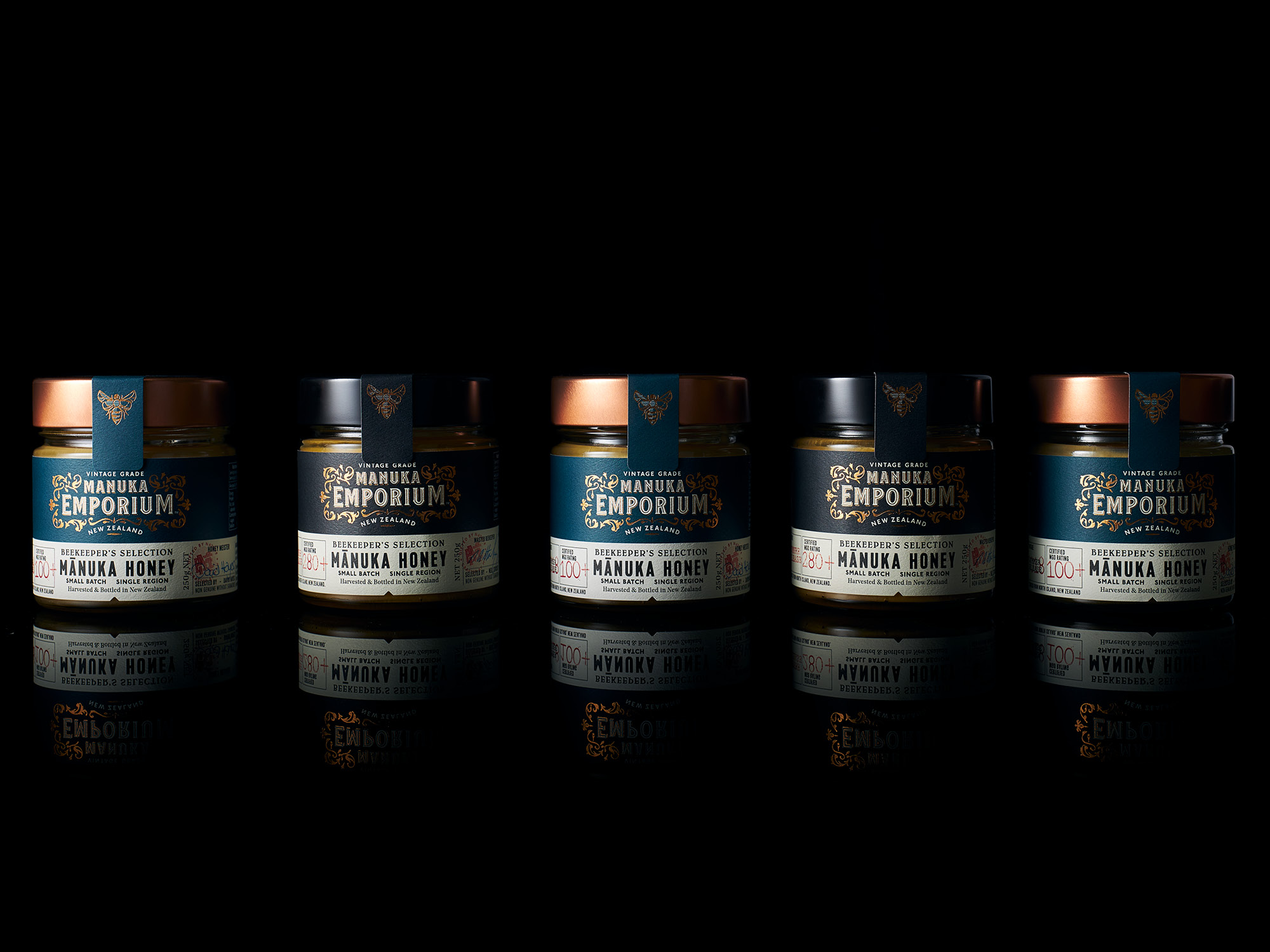 Onfire Design Manuka Emporium Honey Packaging Branding Design 20