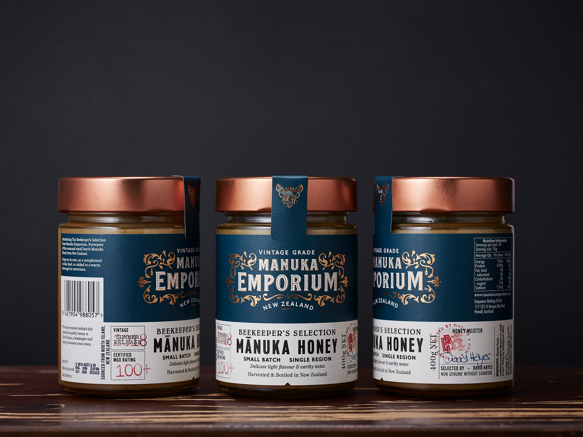 Onfire Design Manuka Emporium Honey Packaging Branding Design 22