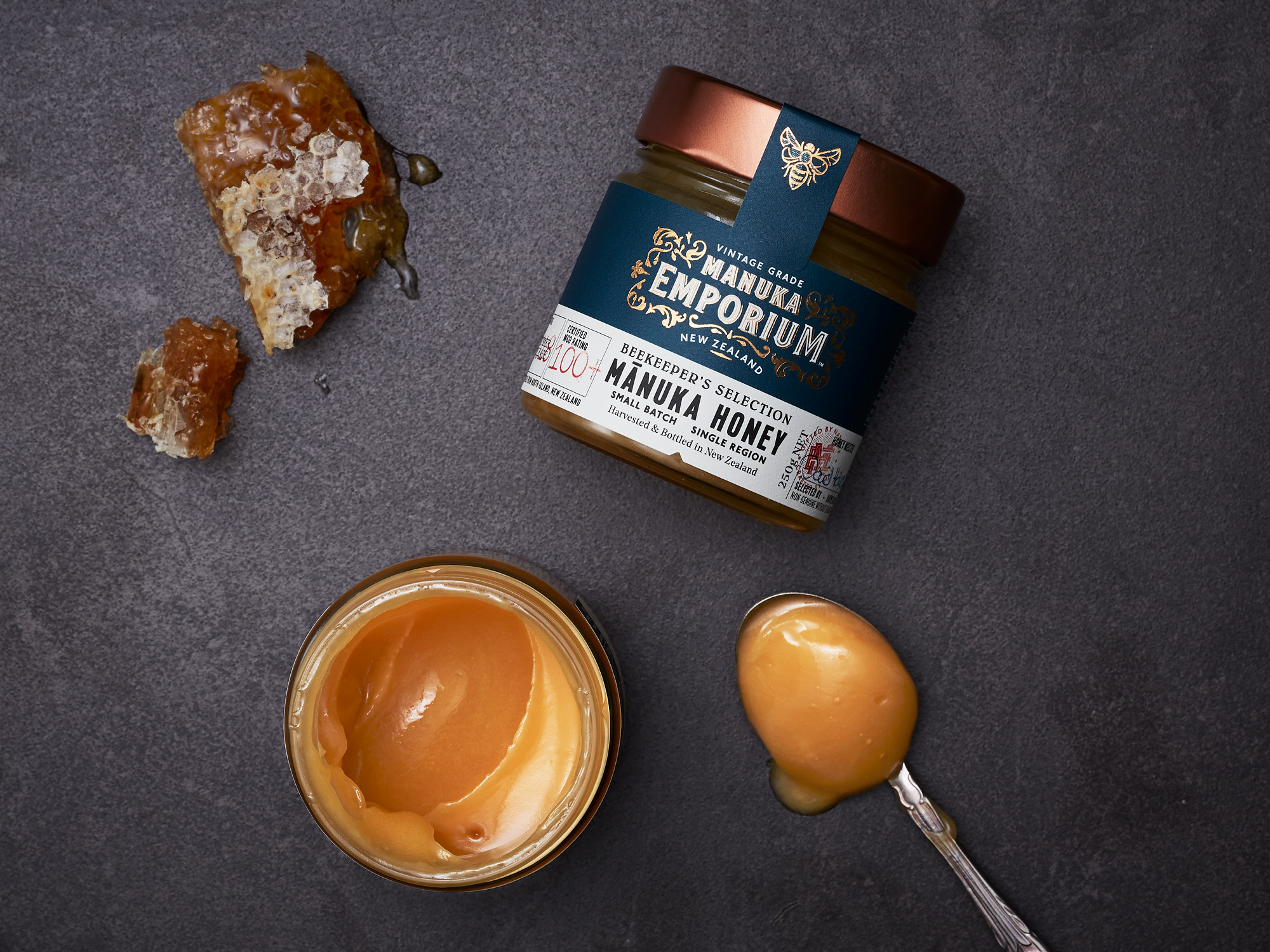 Onfire Design Manuka Emporium Honey Packaging Branding Design 26