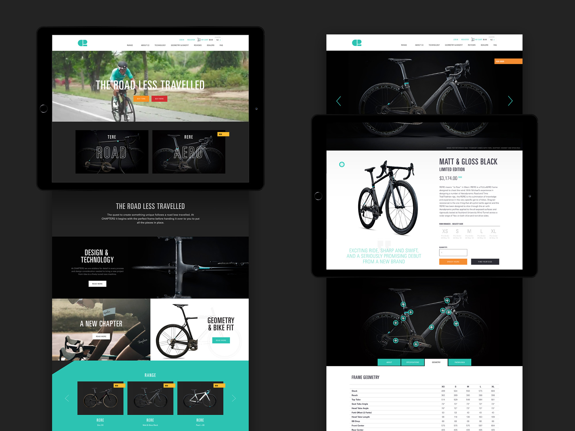 Onfire design Chapter2 cycling branding and website design3