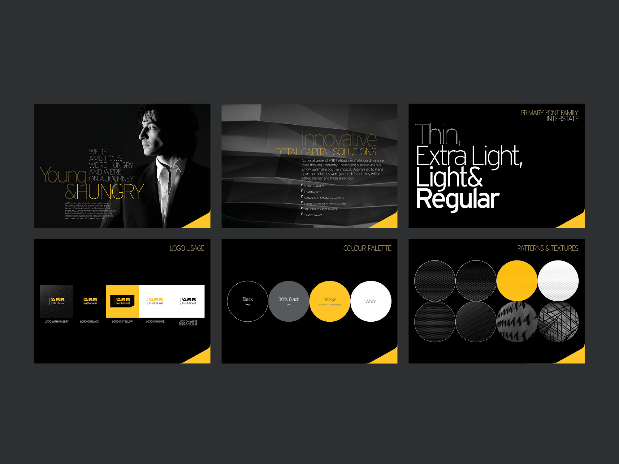 onfire design asb bank institutional branding collateral graphic design 3