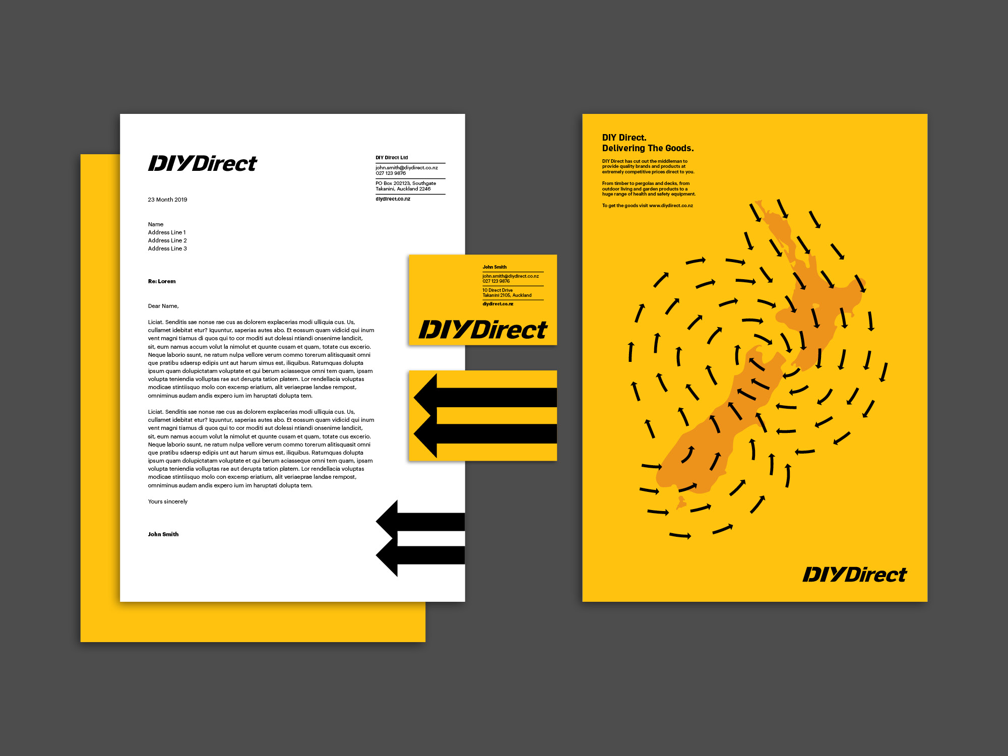 onfire design diy direct branding identity website 8