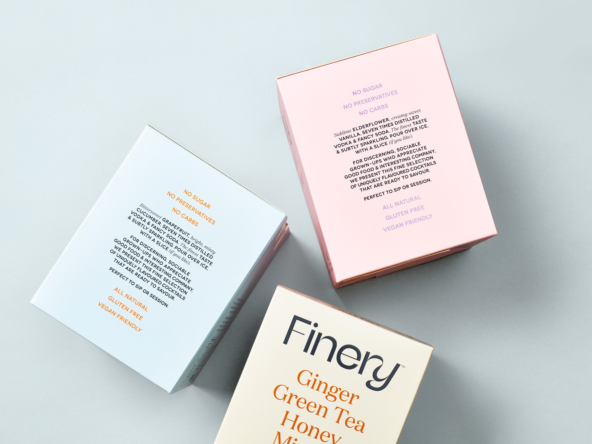 onfire design finery vodka soda branding packaging 11