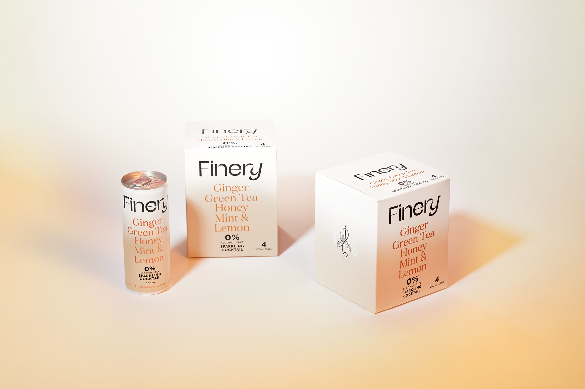 onfire design finery zero percent soda packaging 7