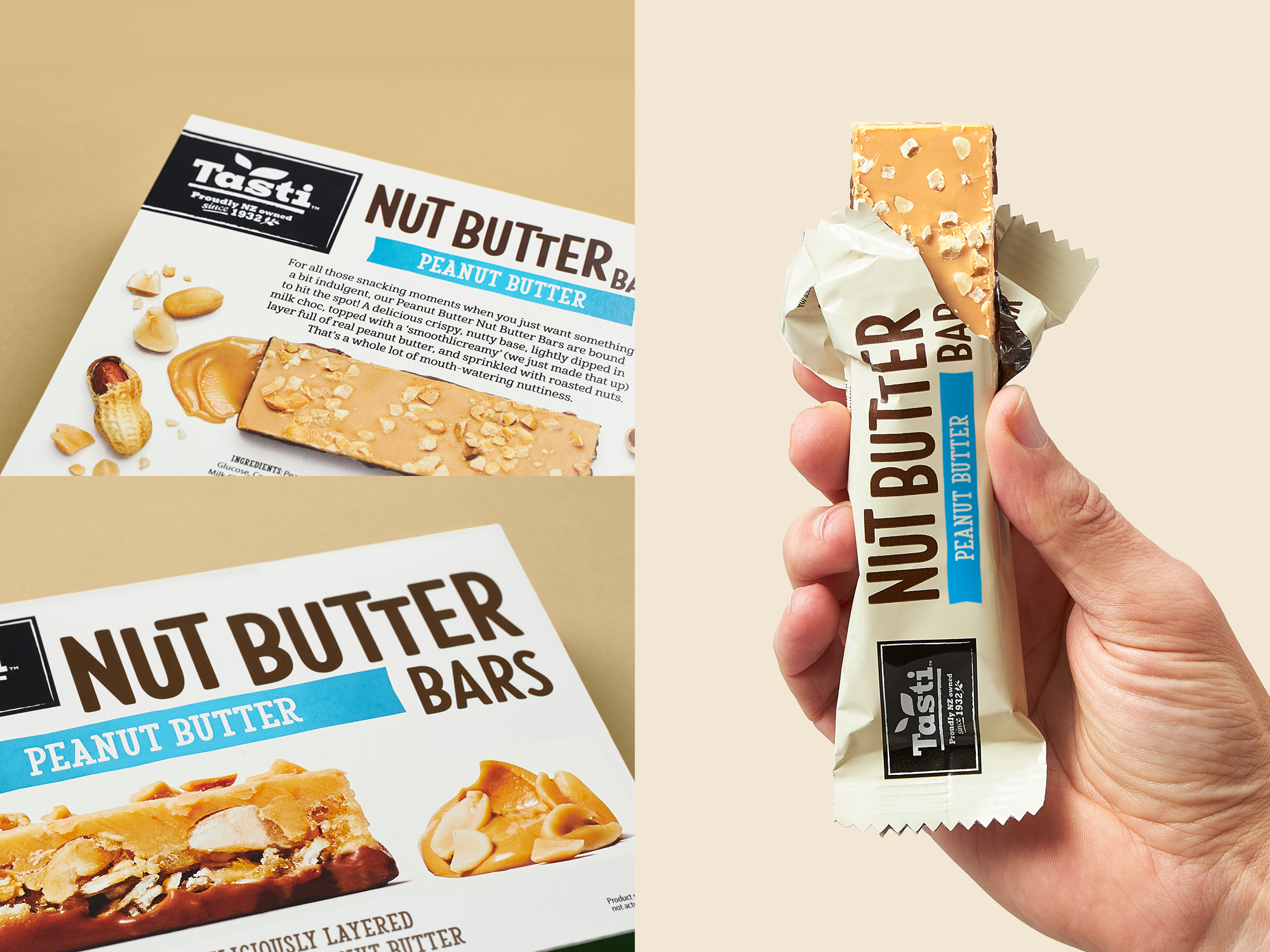 onfire design tast nut butter bar packaging design 9