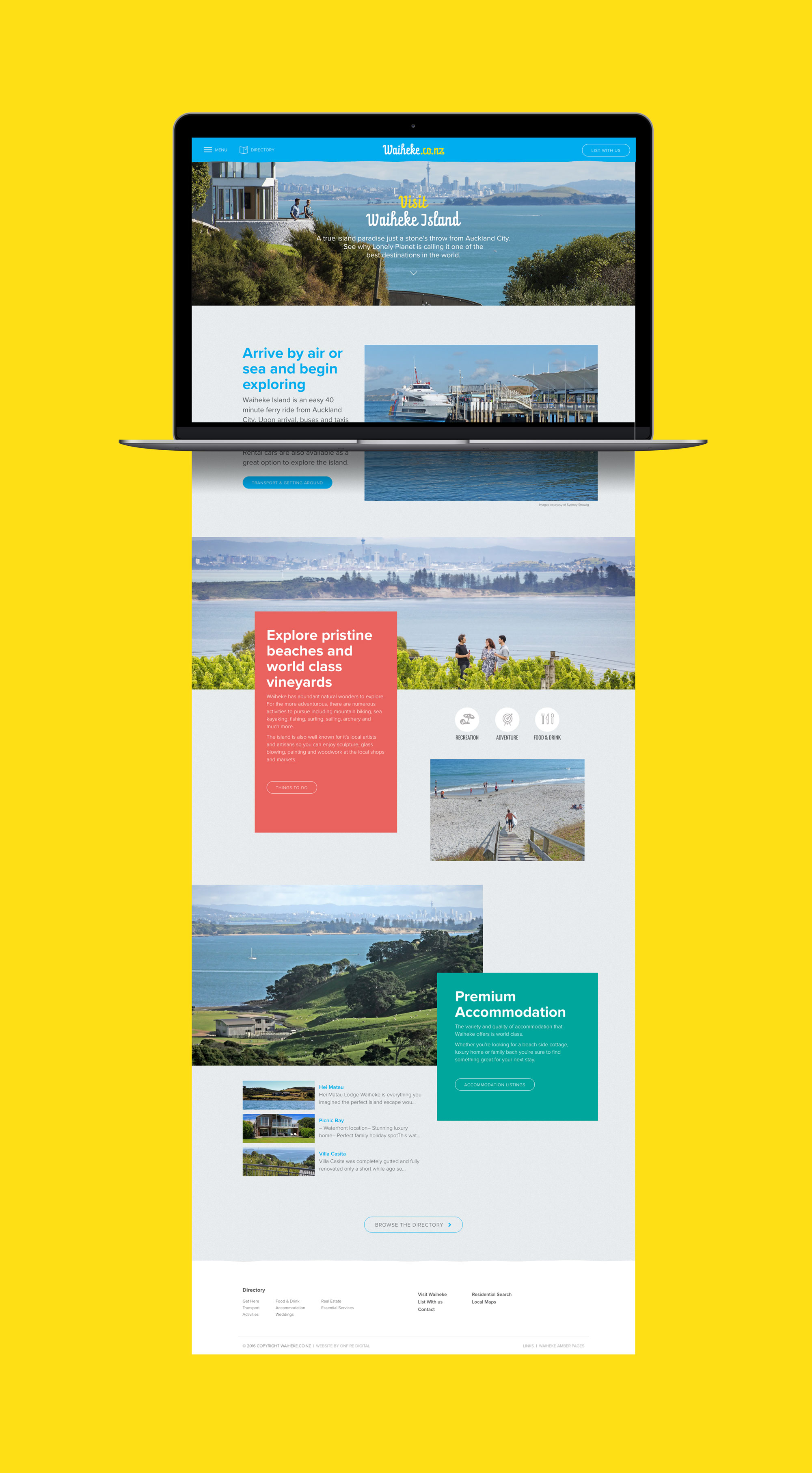 onfire design waiheke website design 4